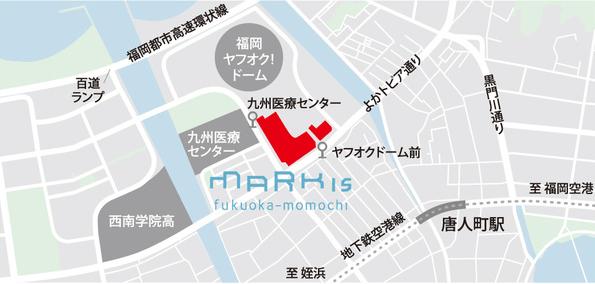MARK IS 福岡ももち(アクセス)