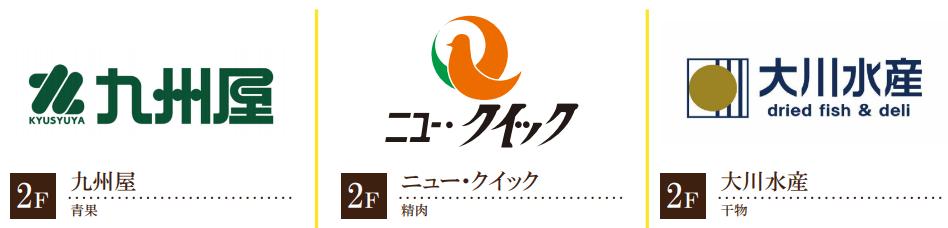 アトレ松戸のリニューアル情報(2F 新規/リニューアルテナント情報1)