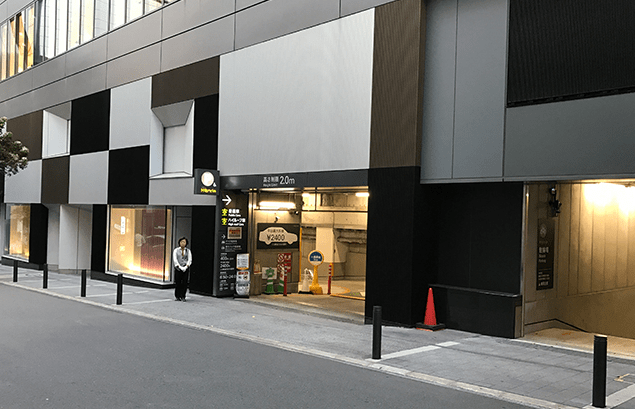 渋谷ヒカリエのリニューアル情報(渋谷ヒカリエ駐車場の入り口)