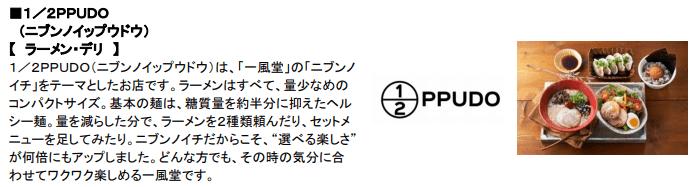 渋谷ヒカリエのリニューアル情報(1/2 PPUDO)