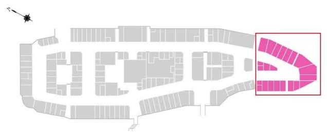 鳥栖プレミアム・アウトレットのリニューアル情報(増設エリア施設内位置図)
