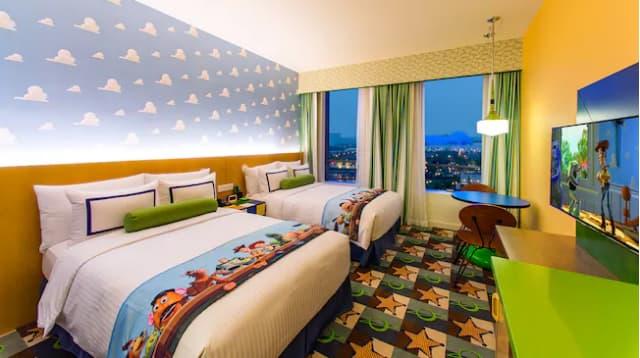 上海ディズニーランドにあるトイストーリーホテルの画像2
