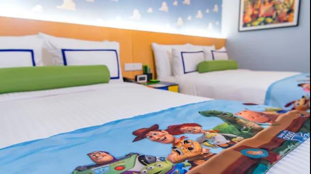上海ディズニーランドにあるトイストーリーホテルの画像4