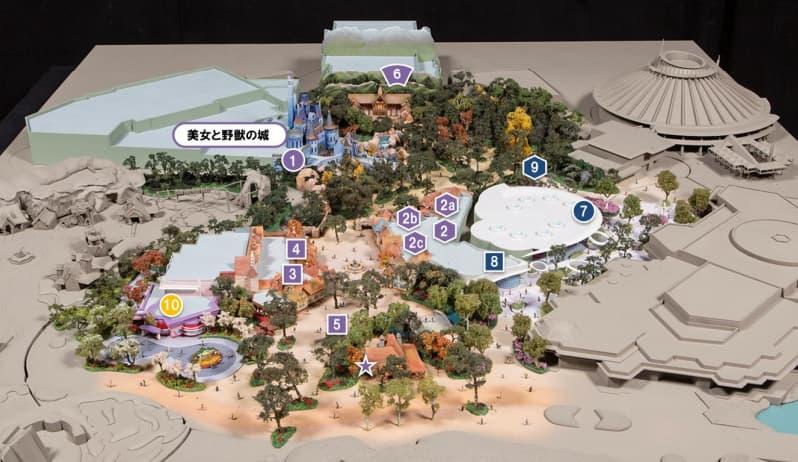 東京ディズーランドの大規模拡張工事(開発エリアの詳細)
