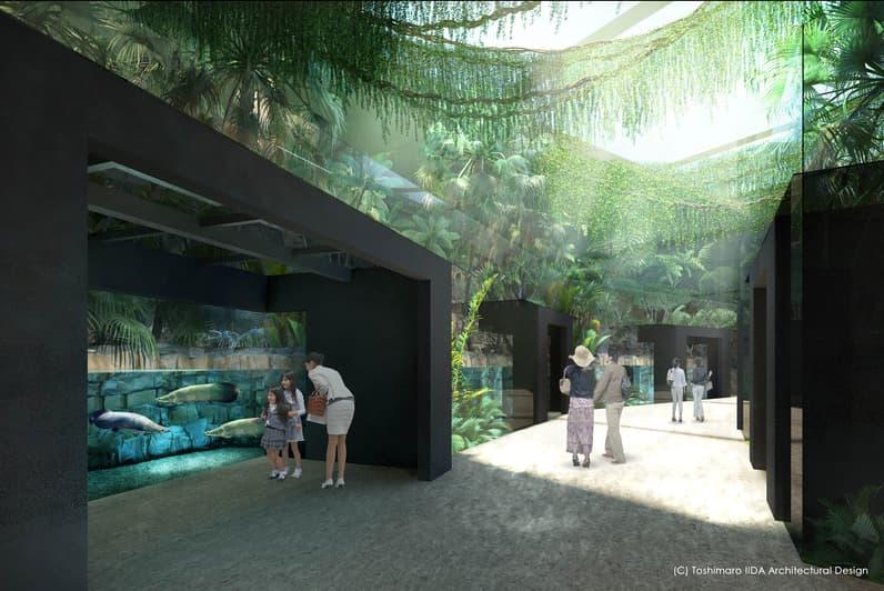 川崎ルフロンの大規模リニューアル情報(水族館のイメージ図1)