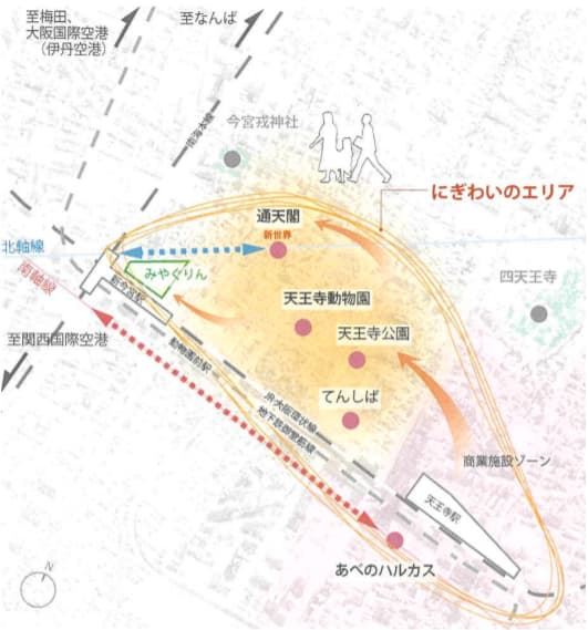 JR新今宮駅前の星野リゾートの都市観光ホテル情報(期待される効果)
