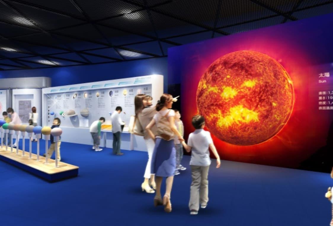 大阪市立科学館のリニューアル情報(展示場4階の刷新展示物の例)