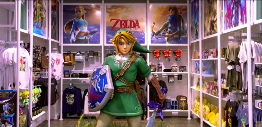 任天堂の直営オフィシャルショップ Nintendo New York 店の画像2