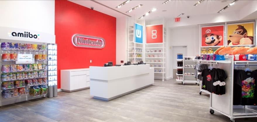 任天堂の直営オフィシャルショップ Nintendo New York 店の画像3