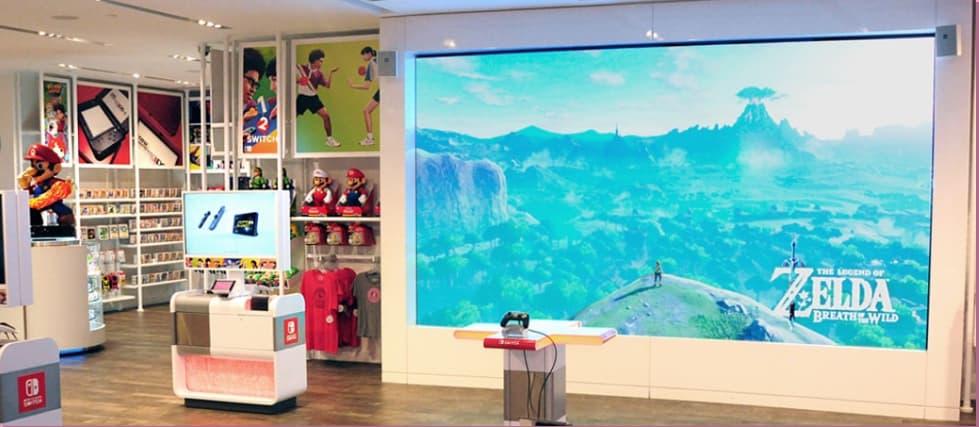任天堂の直営オフィシャルショップ Nintendo New York 店の画像4