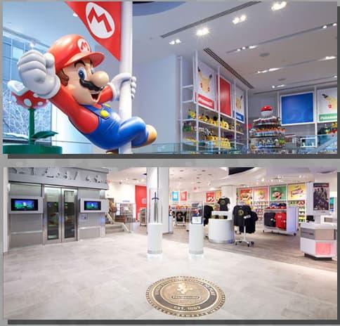 任天堂の直営オフィシャルショップ Nintendo New York 店の画像6