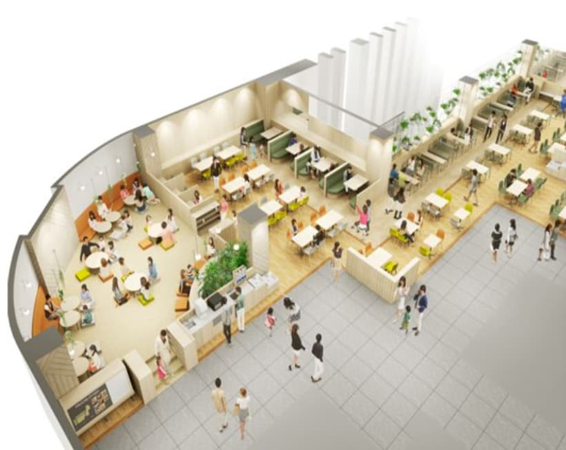 MitteN(ミッテン)府中 9階 レストラン・フードコート2