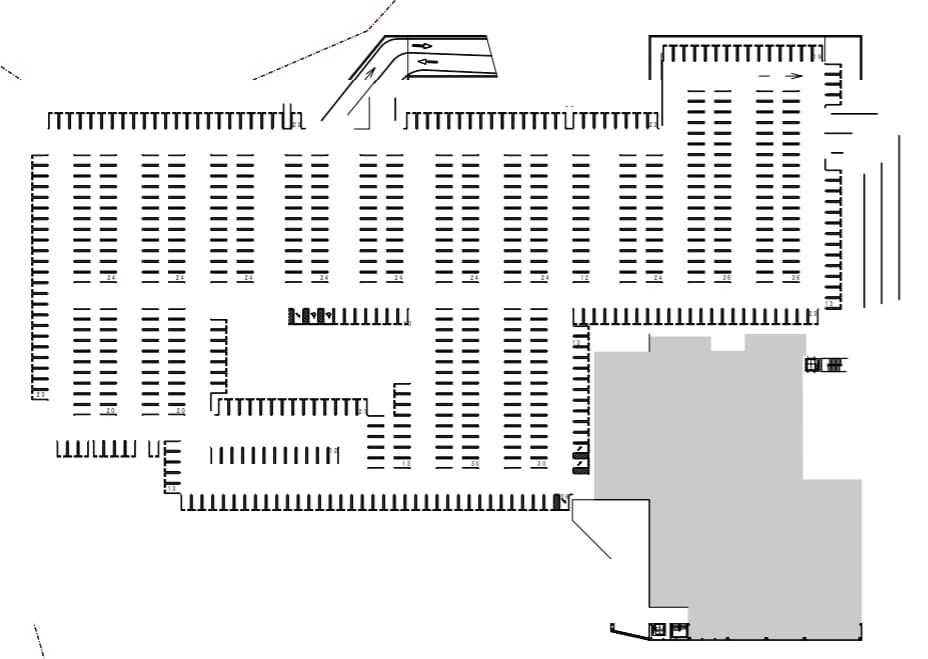 ビバモール一宮(3階平面図)